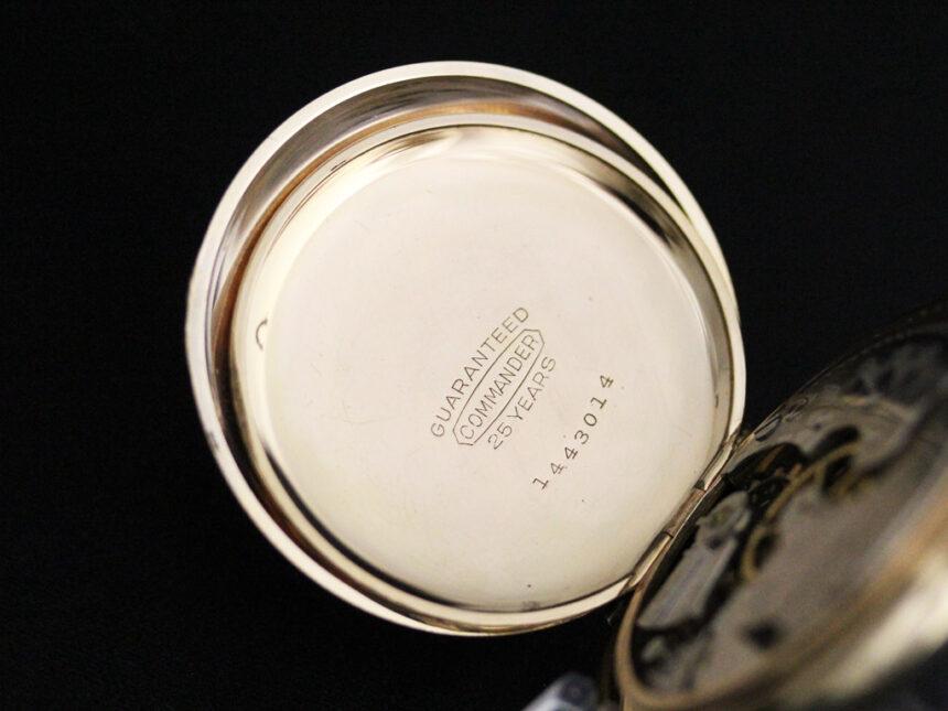 エルジンのアンティーク懐中時計-P2226-18