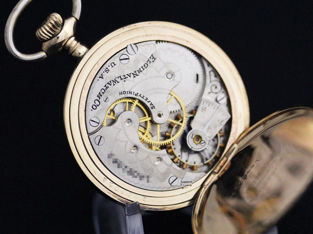 エルジンのアンティーク懐中時計-P2226-19