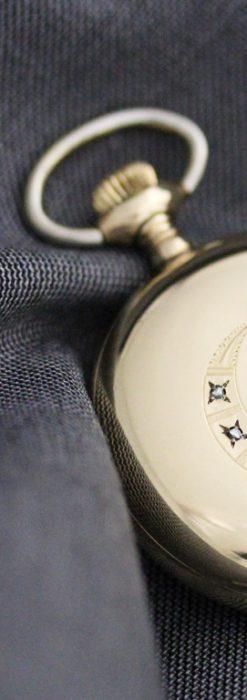 エルジンのアンティーク懐中時計-P2226-2