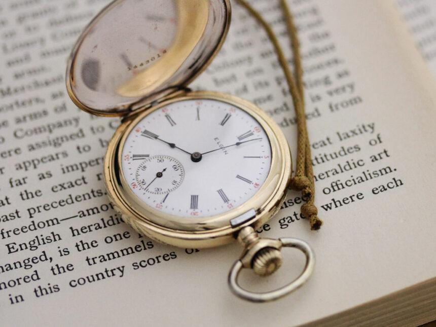 エルジンのアンティーク懐中時計-P2226-3
