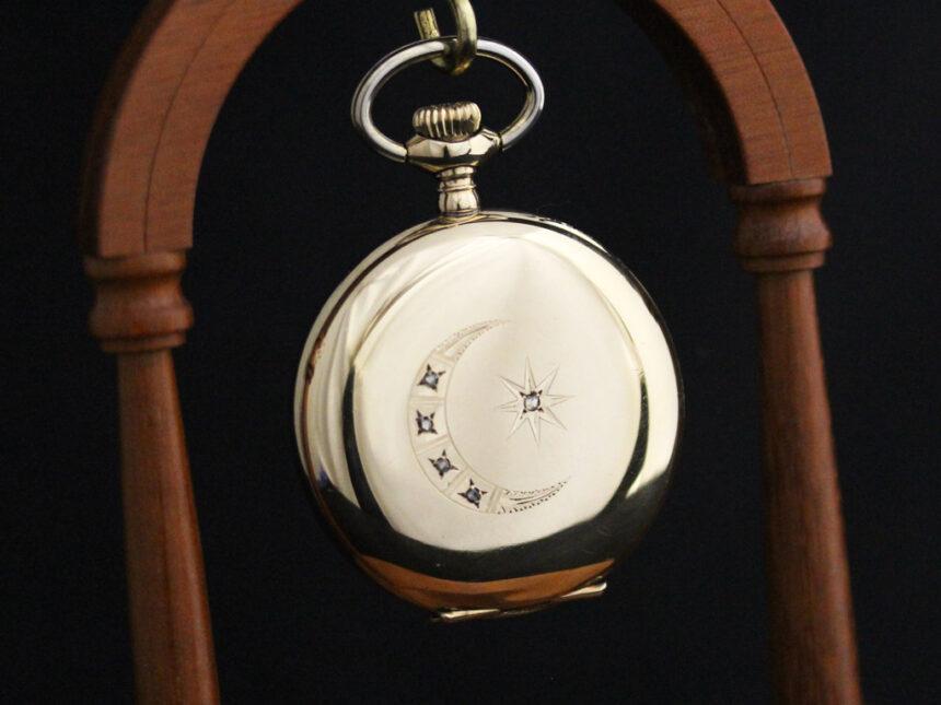 エルジンのアンティーク懐中時計-P2226-6