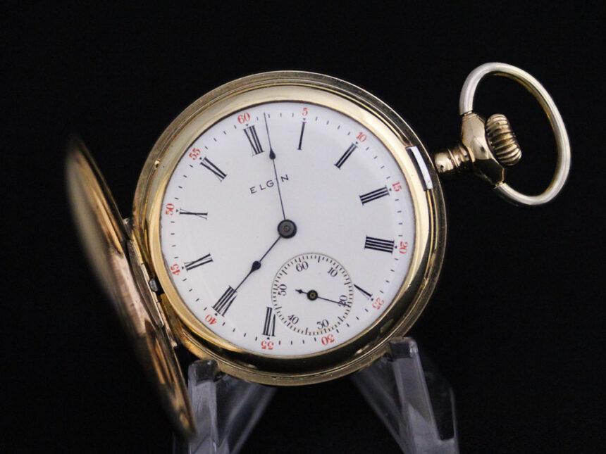 エルジンのアンティーク懐中時計-P2226-8