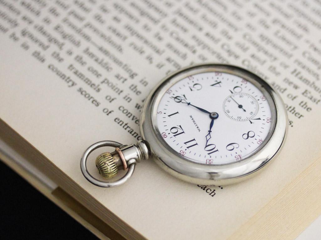 ウォルサムのアンティーク懐中時計-P2227-1