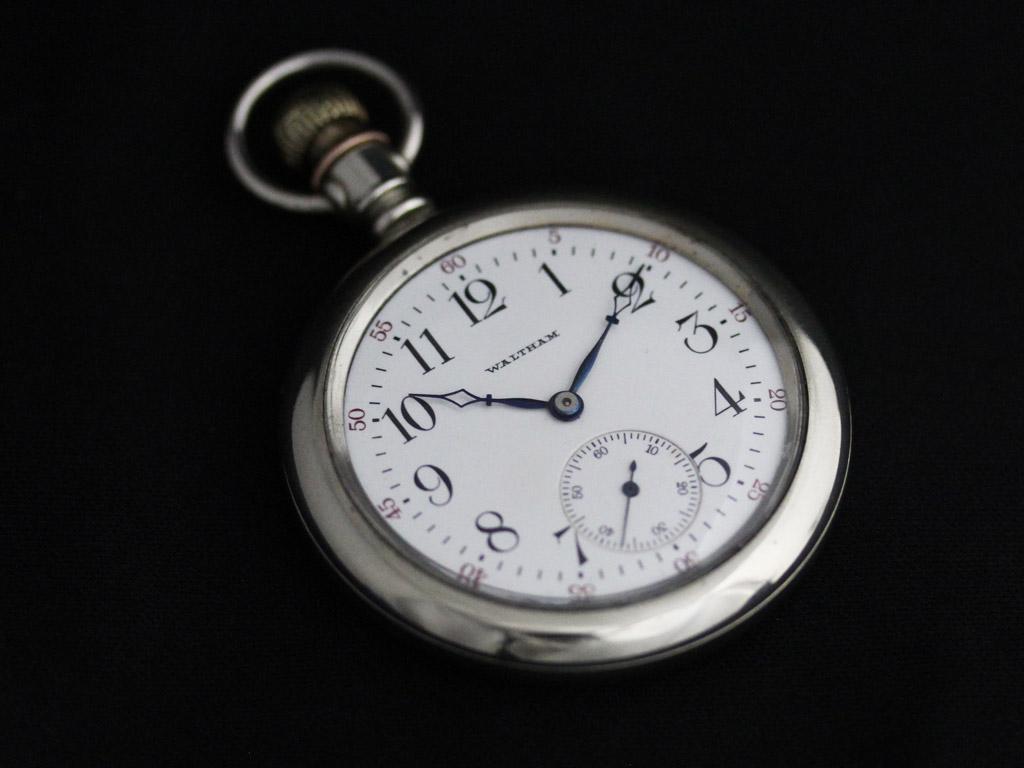 ウォルサムのアンティーク懐中時計-P2227-10