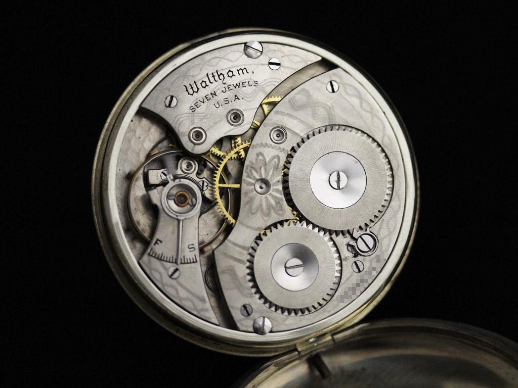 ウォルサムのアンティーク懐中時計-P2227-14