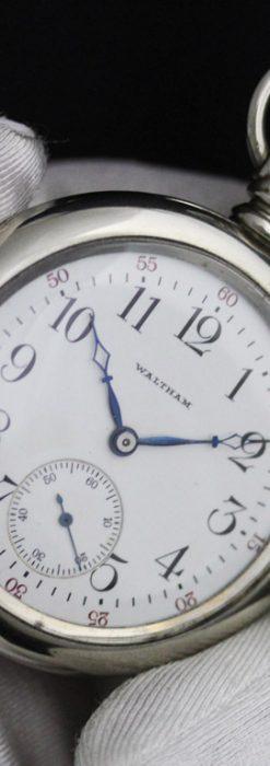 ウォルサムのアンティーク懐中時計-P2227-2