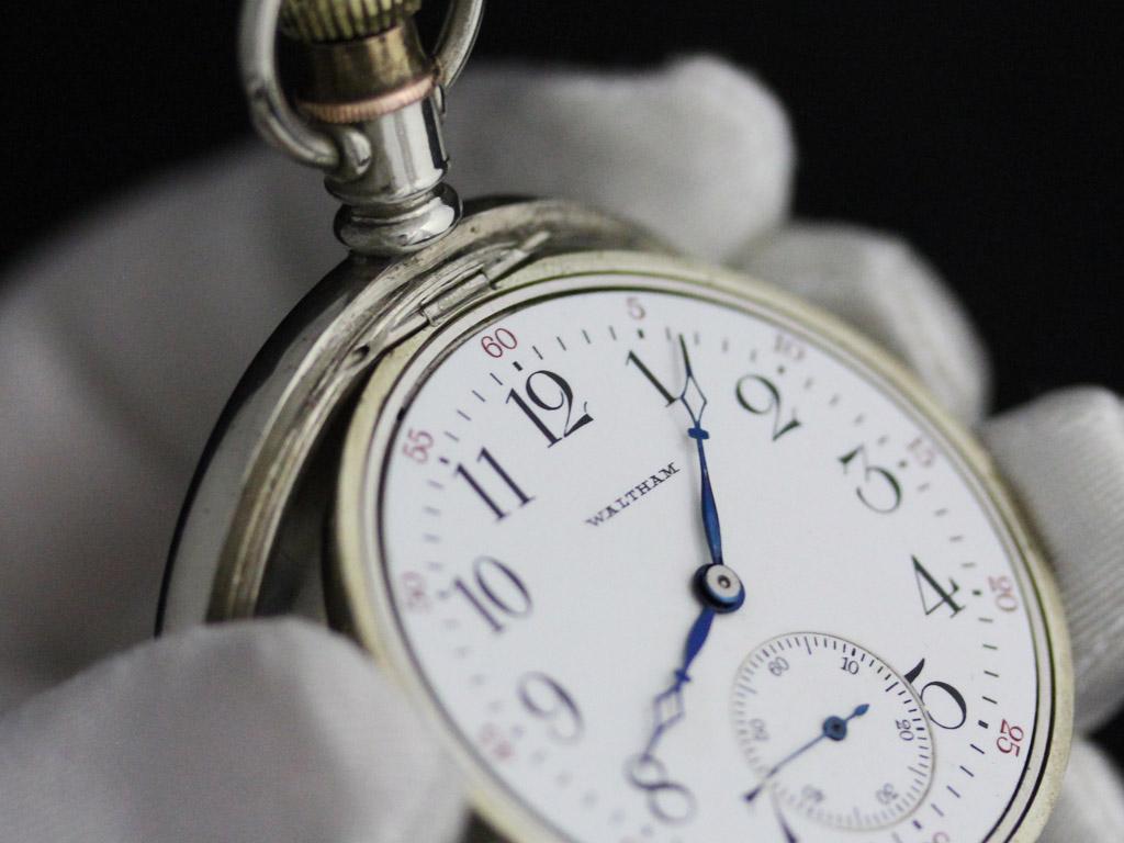ウォルサムのアンティーク懐中時計-P2227-6