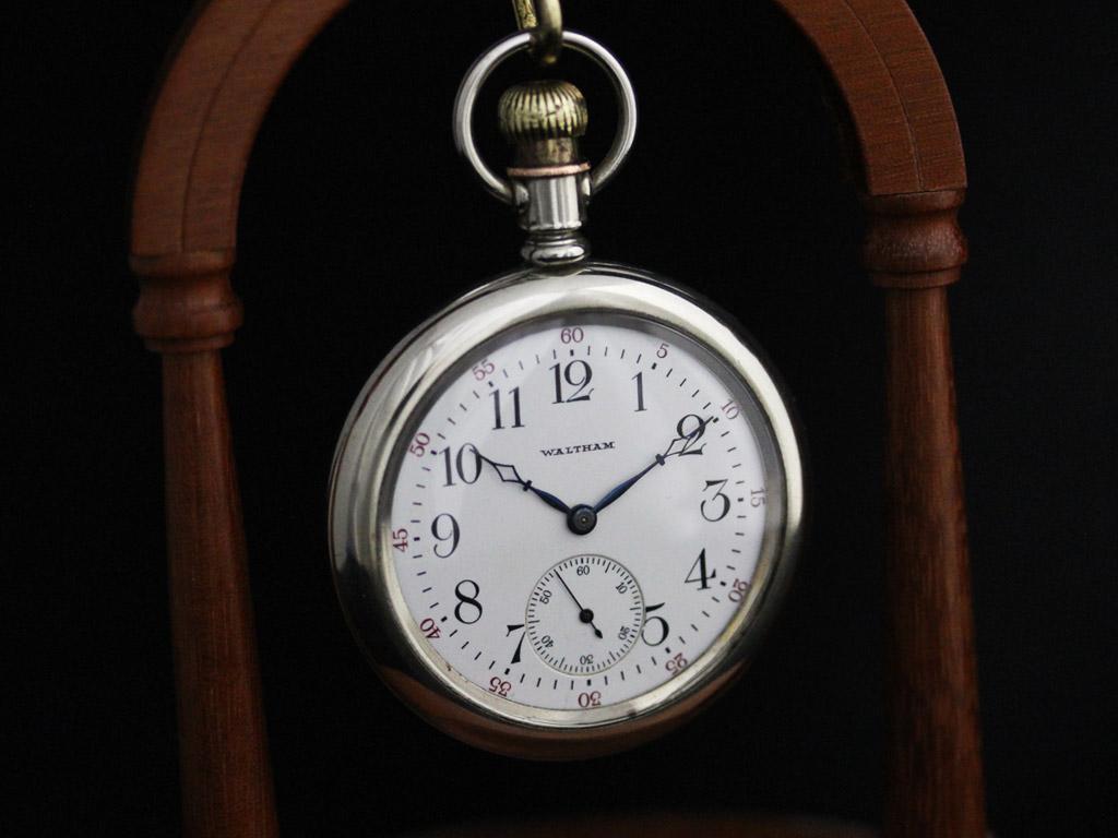 ウォルサムのアンティーク懐中時計-P2227-8