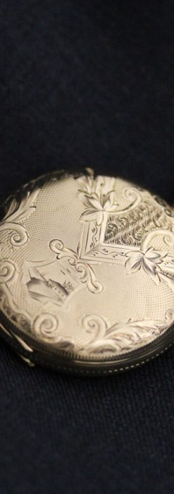 ウォルサムのアンティーク懐中時計-P2229-1