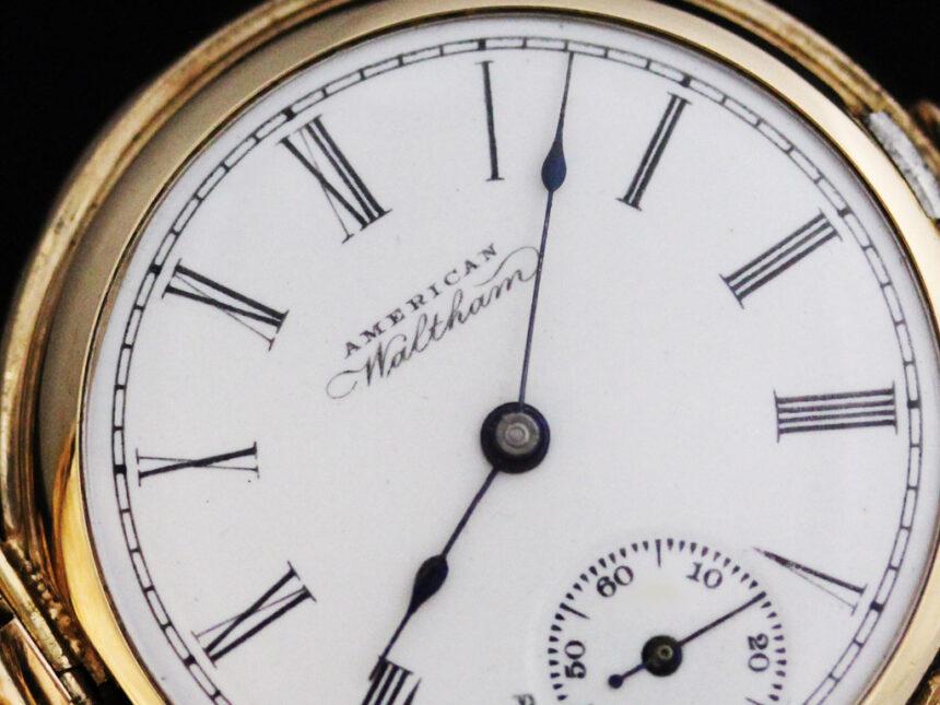 ウォルサムのアンティーク懐中時計-P2229-10