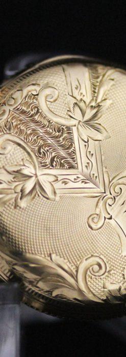 ウォルサムのアンティーク懐中時計-P2229-11