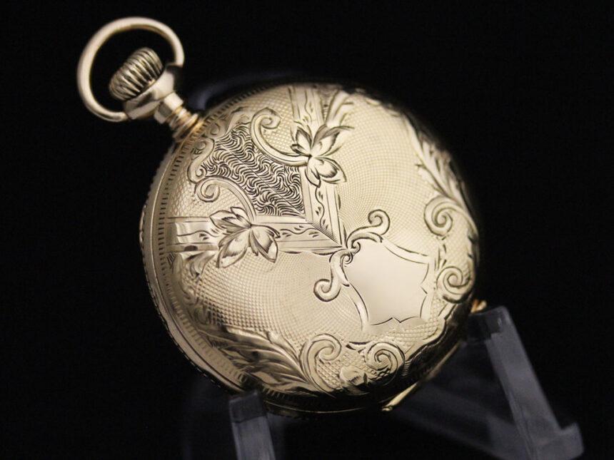 ウォルサムのアンティーク懐中時計-P2229-12