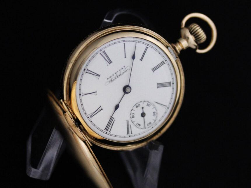 ウォルサムのアンティーク懐中時計-P2229-13