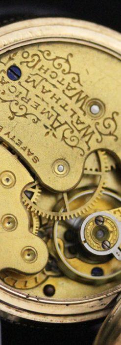 ウォルサムのアンティーク懐中時計-P2229-18