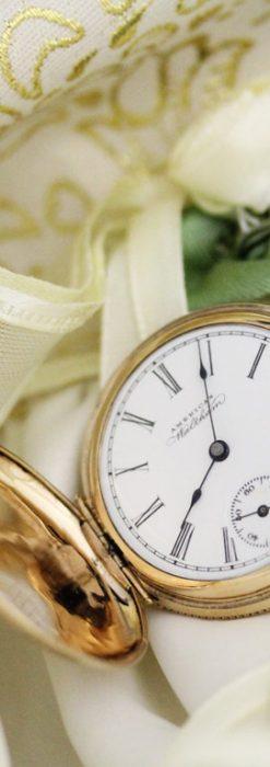 ウォルサムのアンティーク懐中時計-P2229-3