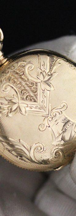 ウォルサムのアンティーク懐中時計-P2229-5