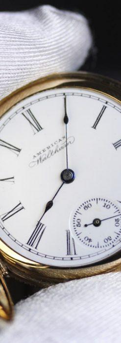 ウォルサムのアンティーク懐中時計-P2229-6