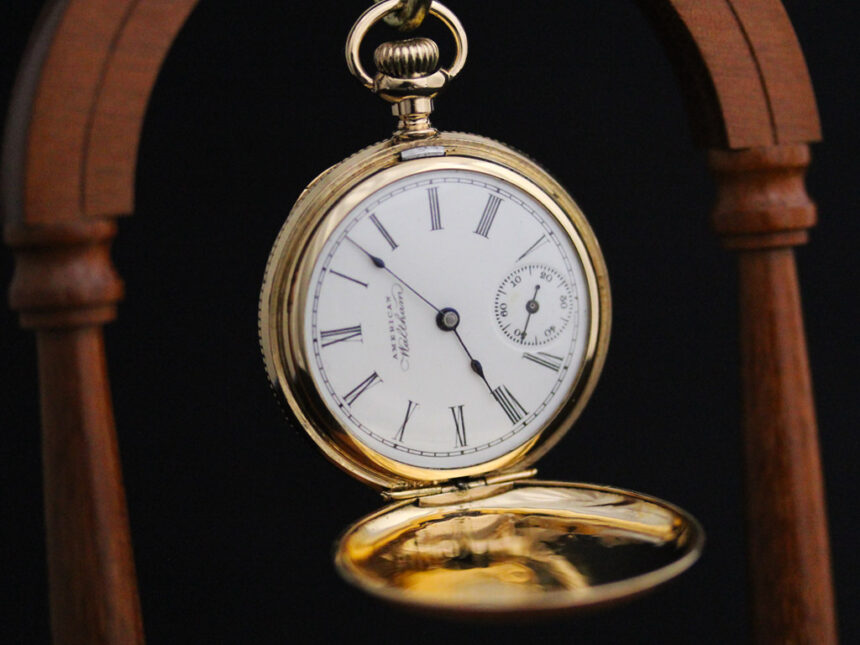 ウォルサムのアンティーク懐中時計-P2229-7