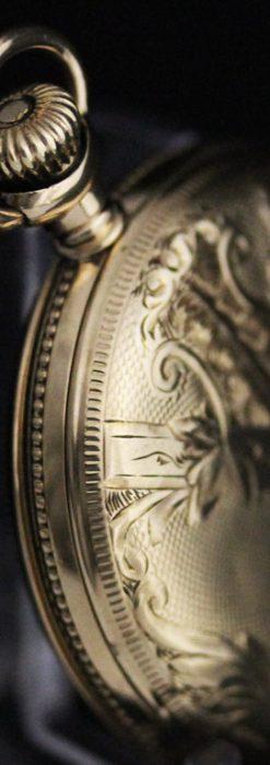 ウォルサムのアンティーク懐中時計-P2229-9