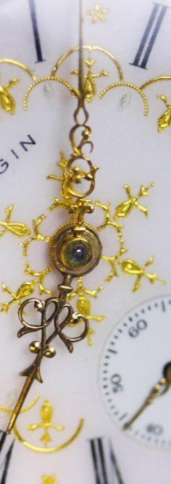 エルジンのアンティーク懐中時計-P2230-2