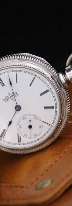 エルジンのアンティーク懐中時計-P2234-1
