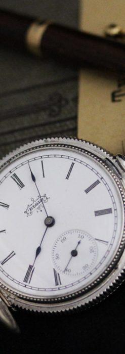 エルジンのアンティーク懐中時計-P2234-2