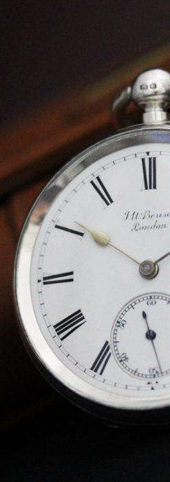 ベンソンのアンティーク懐中時計-P2236-10