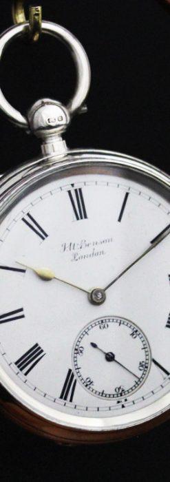 ベンソンのアンティーク懐中時計-P2236-11