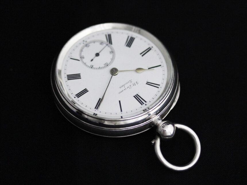 ベンソンのアンティーク懐中時計-P2236-12