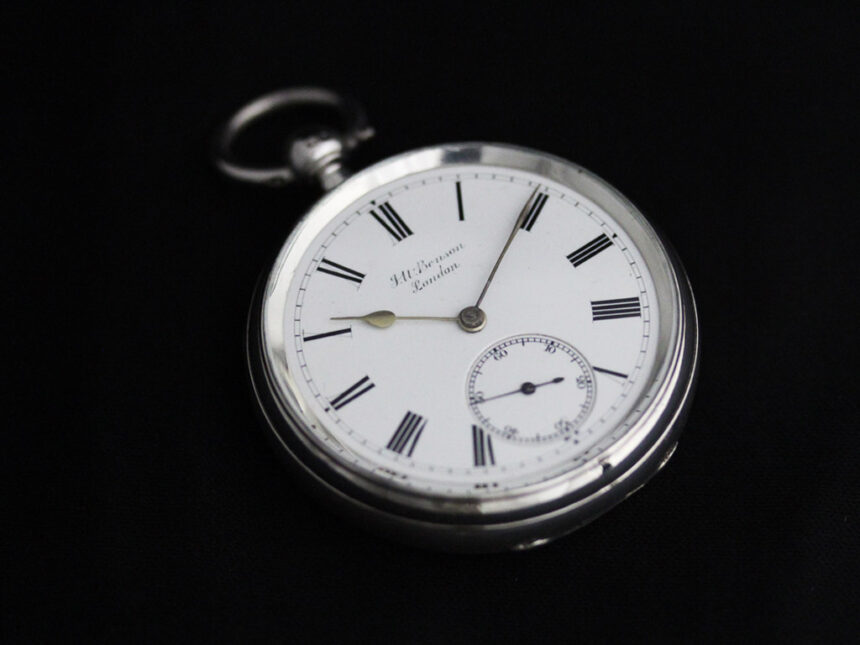 ベンソンのアンティーク懐中時計-P2236-13