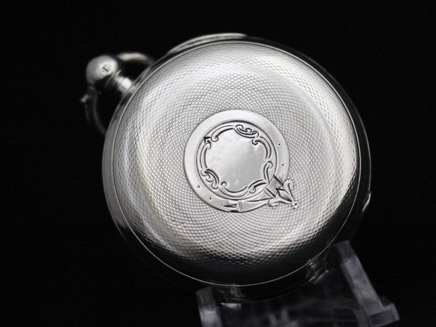 ベンソンのアンティーク懐中時計-P2236-15