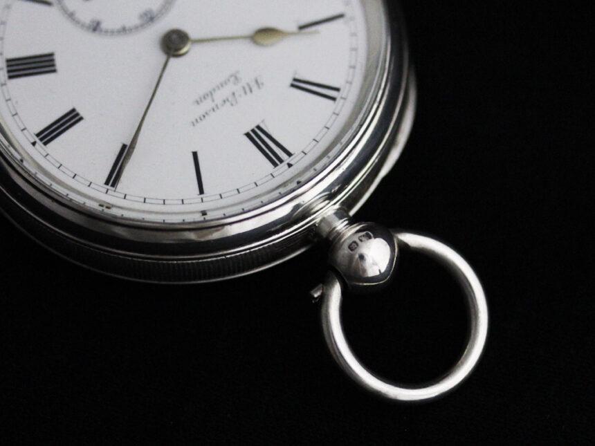ベンソンのアンティーク懐中時計-P2236-16