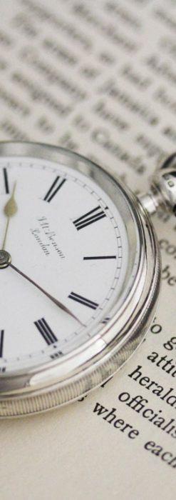 ベンソンのアンティーク懐中時計-P2236-2