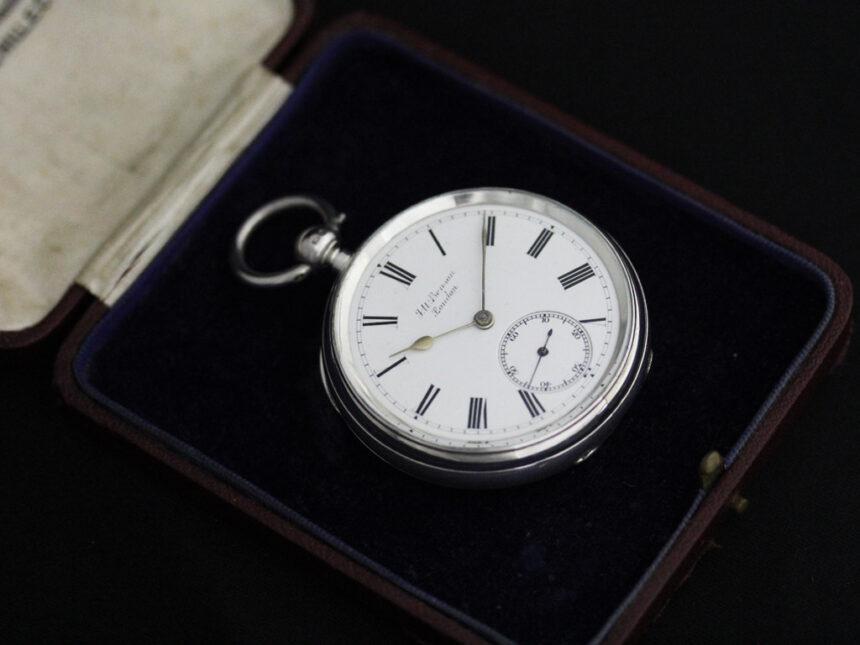 ベンソンのアンティーク懐中時計-P2236-21