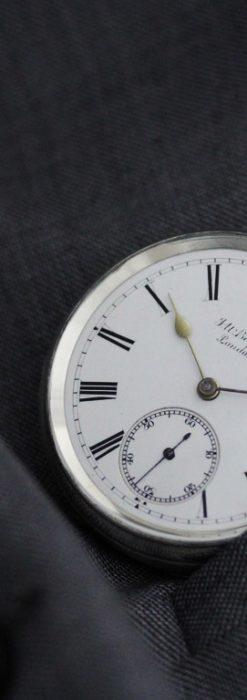 ベンソンのアンティーク懐中時計-P2236-3