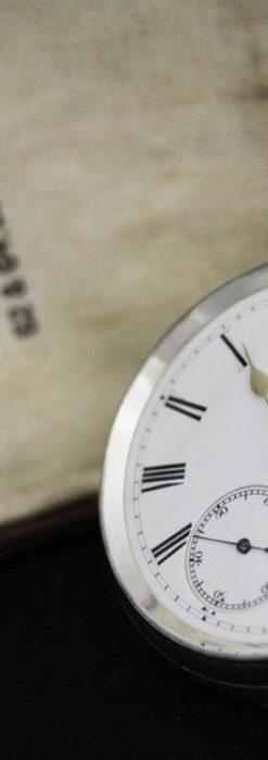 ベンソンのアンティーク懐中時計-P2236-7
