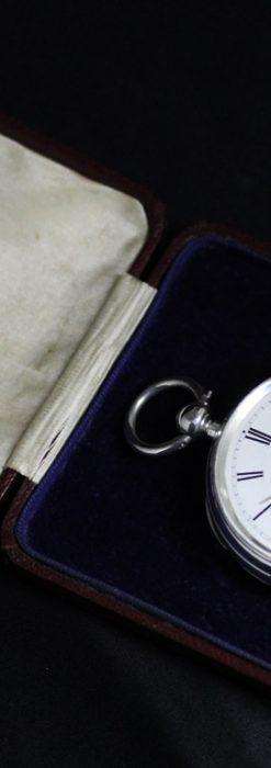 ベンソンのアンティーク懐中時計-P2236-8