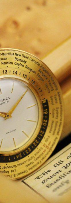 エルメスのアンティーク懐中時計-P2237-2