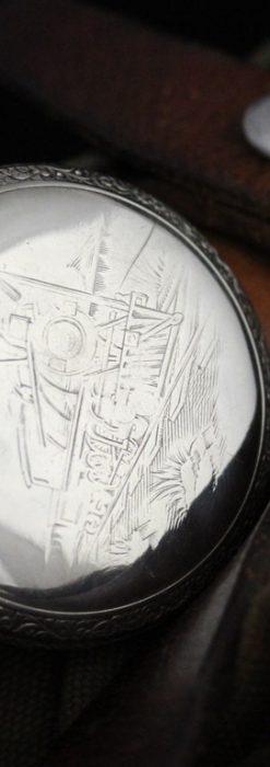 ウォルサムのアンティーク懐中時計-P2238-1