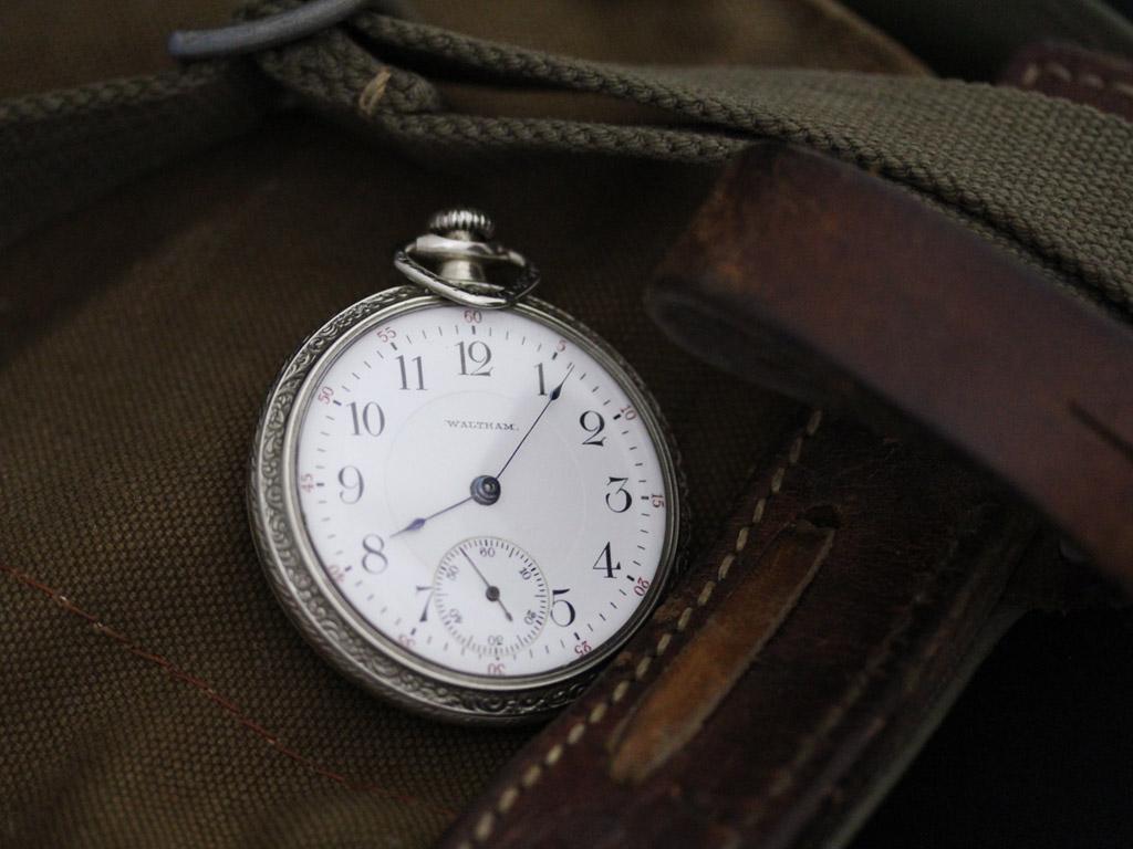 ウォルサムのアンティーク懐中時計-P2238-2