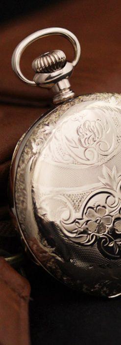 ウォルサムのアンティーク懐中時計-P2239-2