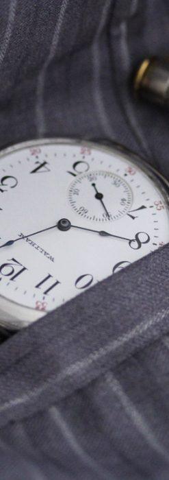 ウォルサムのアンティーク懐中時計-P2240-1