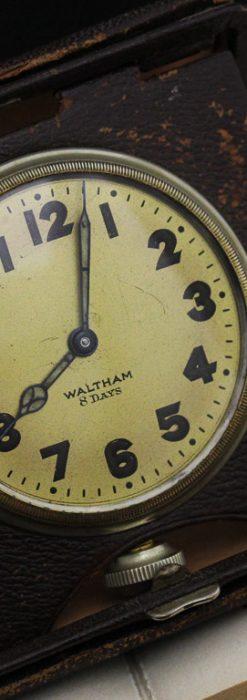 ウォルサムのアンティーク8日巻き時計-P2242-1