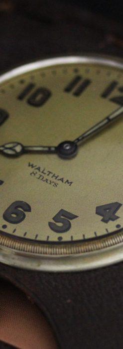 ウォルサムのアンティーク8日巻き時計-P2242-3