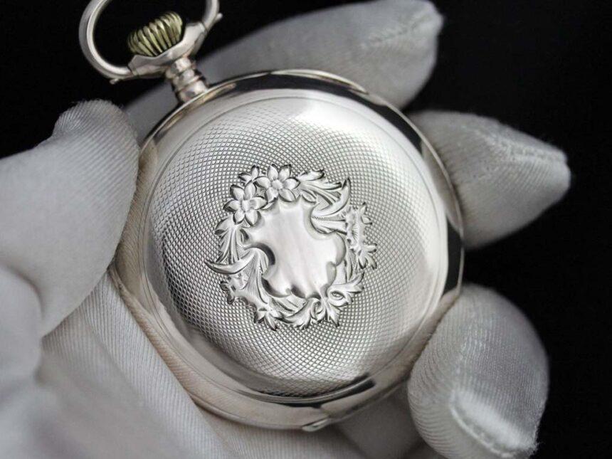 オメガのアンティーク懐中時計-P2243-1