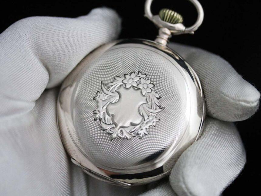 オメガのアンティーク懐中時計-P2243-10