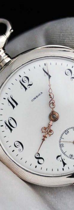 オメガのアンティーク懐中時計-P2243-12