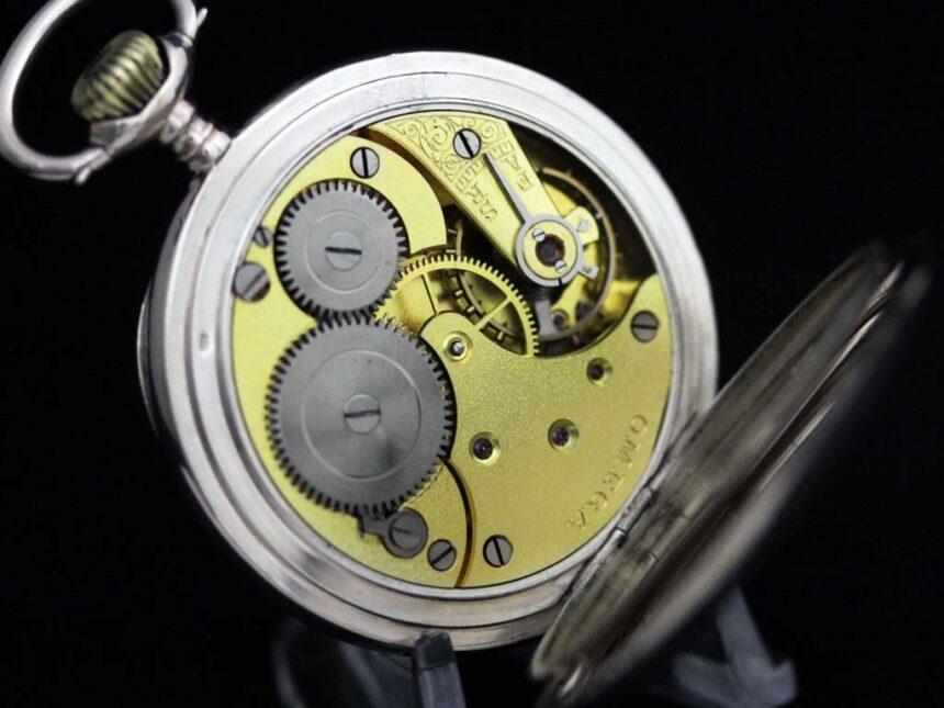 オメガのアンティーク懐中時計-P2243-18