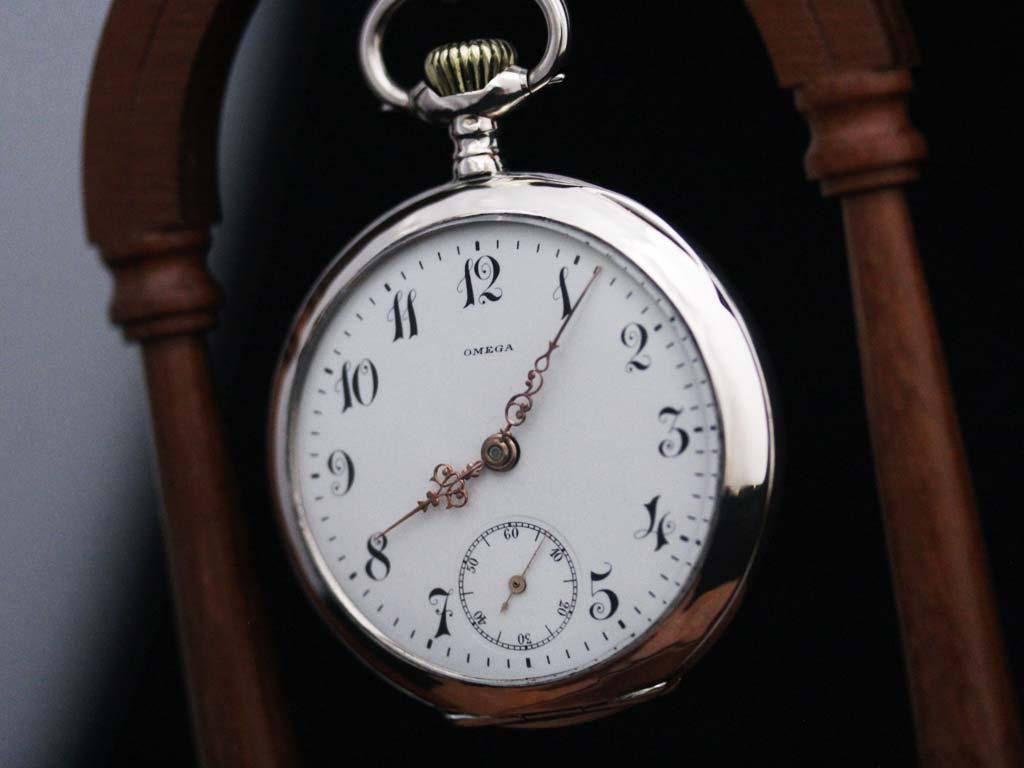 オメガのアンティーク懐中時計-P2243-2