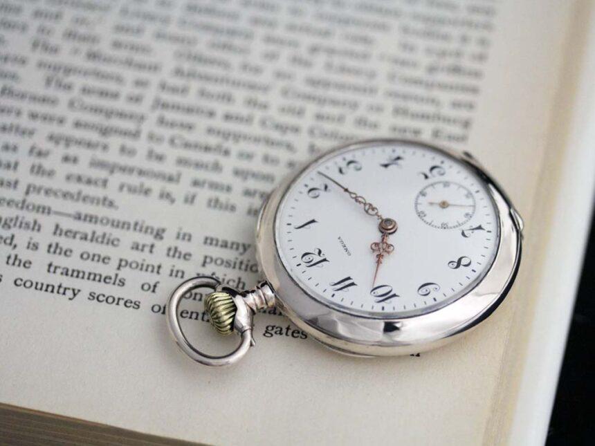 オメガのアンティーク懐中時計-P2243-5